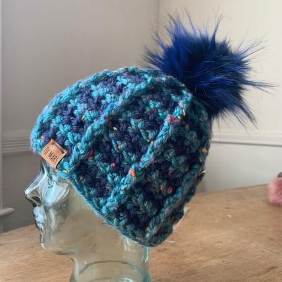 Bulky Ridgeline Crochet Hat #1