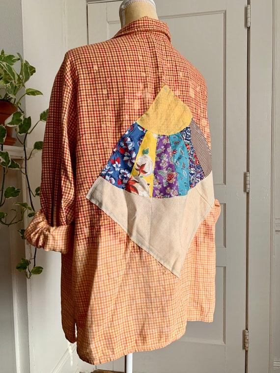 XL Orange Sunrise Shirt