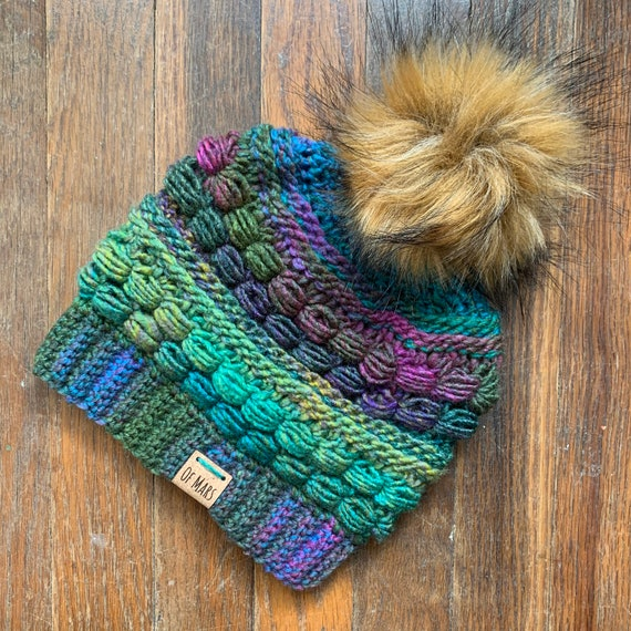 Block Party Crochet Hat