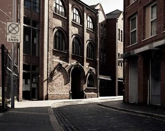 Hill Street - Belfast Northern Ireland - Urban Street Photography  - Limited Edition Print - 8x12, 12x18, 16x24, 20x30, 24x36