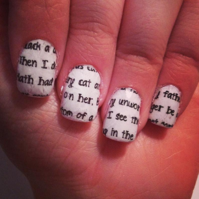 Romeo & Juliet Quotes Nail Wraps
