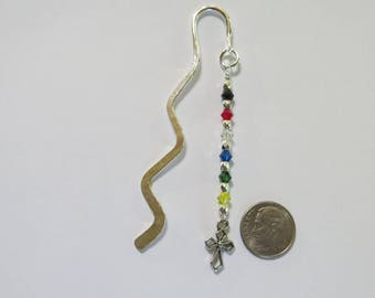 Salvation bookmark religious gift sunday school teacher gift scripture bookmark christian gift sunday school teacher gift easter basket wavy silvertone bookmark with crystals with negle Image collections