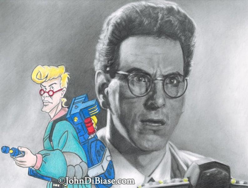 Harold Ramis As Egon Spengler In Ghostbusters With Real Etsy