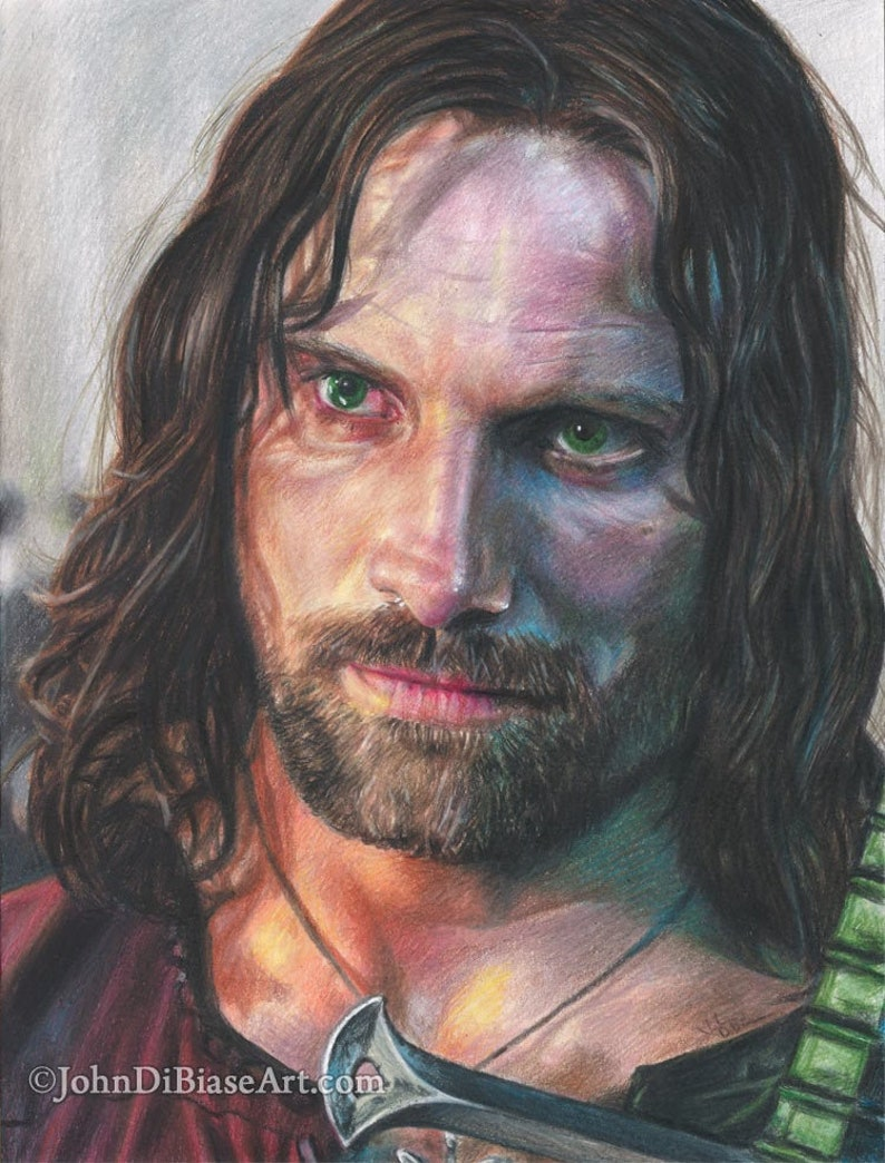 Viggo Mortensen as Aragorn in Lord of the Rings image 0