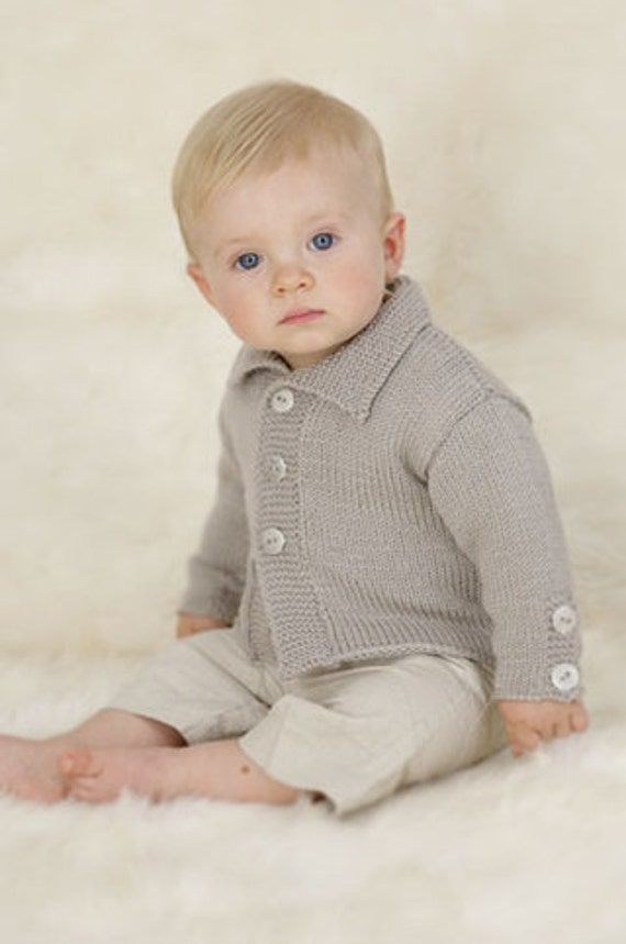 Bebé//niñas Tejer patrón para Bebé Set el nacimiento hasta 4 años de hilo de punto doble