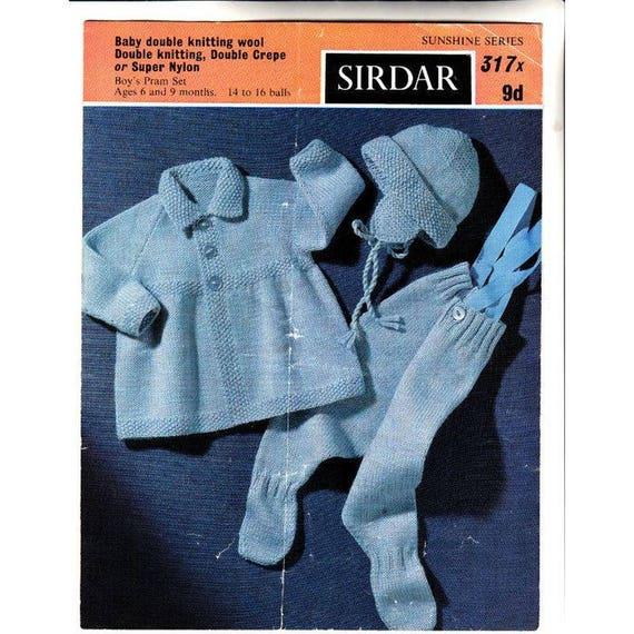 "Baby Knitting Pattern Waistcoat Skirt Shorts Socks DK 18-24/"""