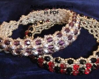"Pattern for bracelet ""Jalta"""