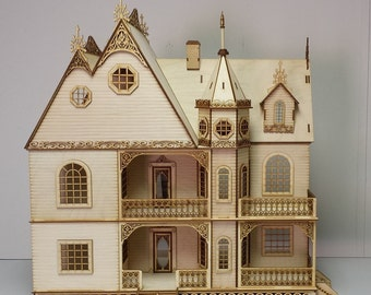 Victorian Dollhouse Etsy