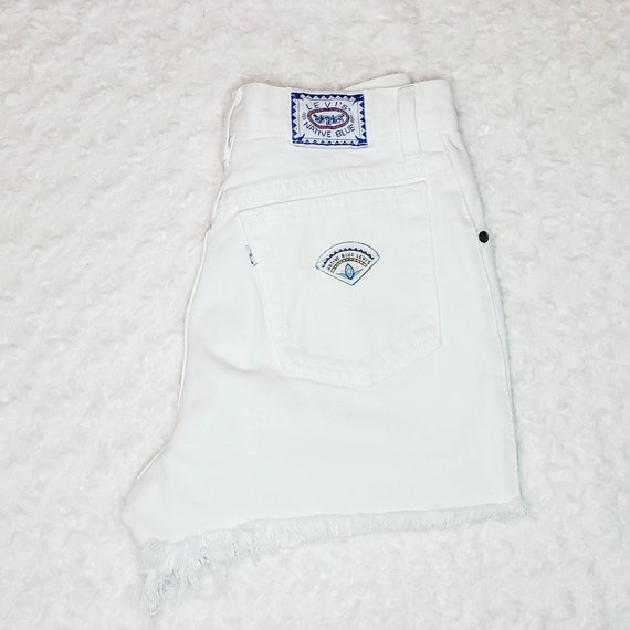 Vintage Native Blue Levi's Shorts
