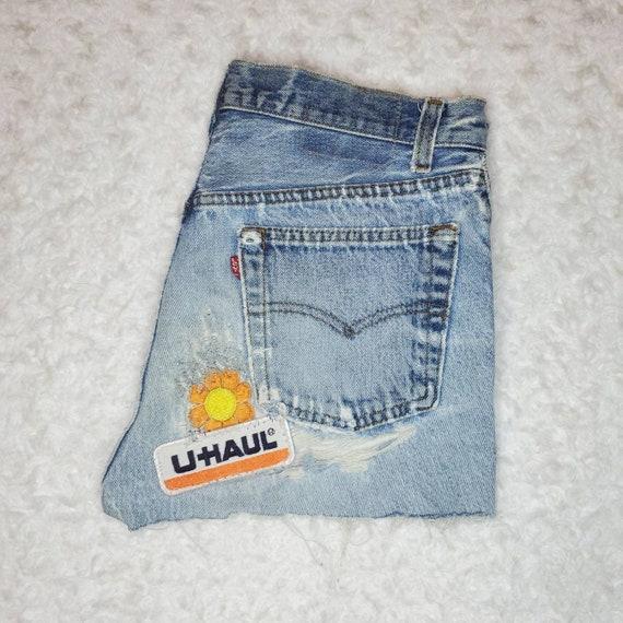 Vintage Patchwork Levi's Shorts