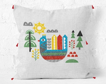 Swedish Pillow - Scandinavian Collection, Fall Decor, Fall Pillow, Modern Decor, Nordic, Swedish Decor