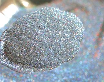 Holographic GLITTER,  SILVER, Nail Art, Craft Glitter, Hologram, Body Glitter