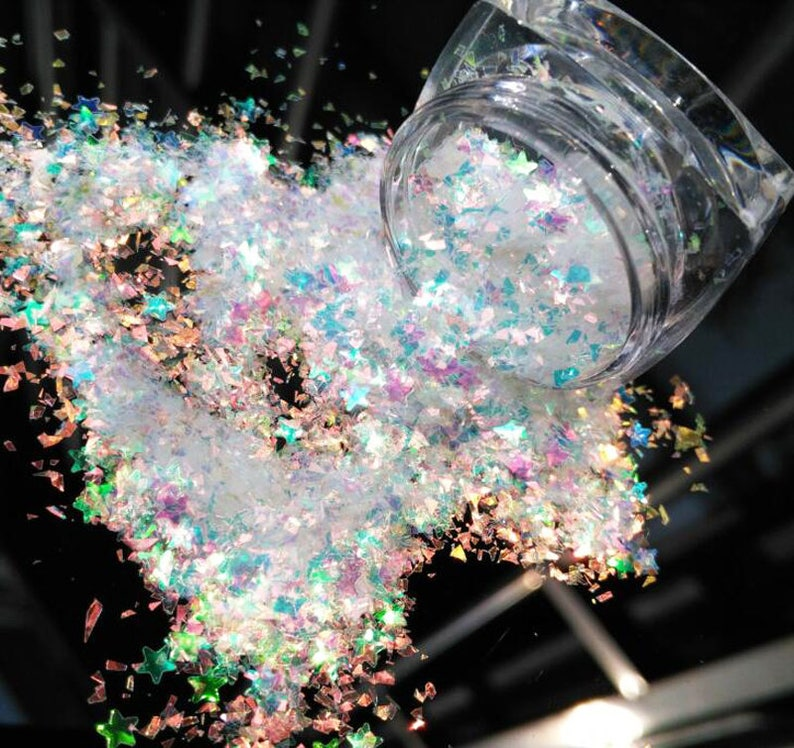 Sparkly Glitter Mixes for Crafts