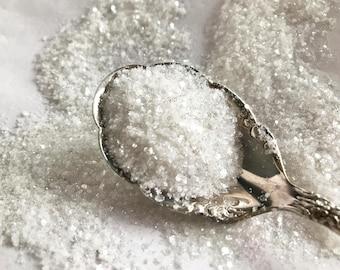 Nail Glitter SNOW WHITE Mix, Craft Glitter, Resin, Body Glitter