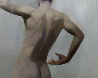 Male Nude Painting Oil