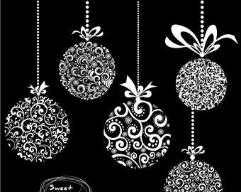 Christmas balls clipart,Christmas Ball,Digital balls,Christmas clipart,Christmas ball clipart,Holiday Clip Art, Christmas Ball Clip Art 0236