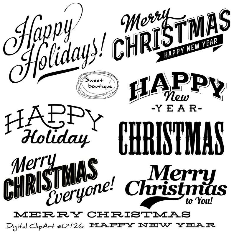 Christmas Clipart Christmas Quotes Christmas Text Christmas