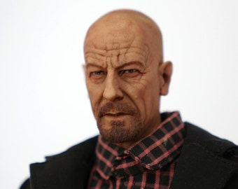 "Breaking Bad - Walter White Heisenberg 1/6 scale custom 12"" action figure"