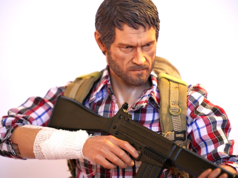4777b14ca5d The Last of Us Joel 1 6 scale 12 inch custom action figure Hot