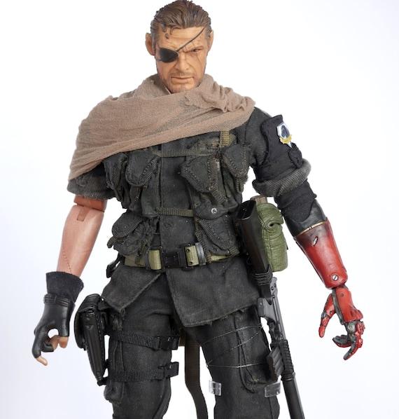 1//6 Scale Metal Gear Solid Snake The Phantom Legend V Grey Scarf