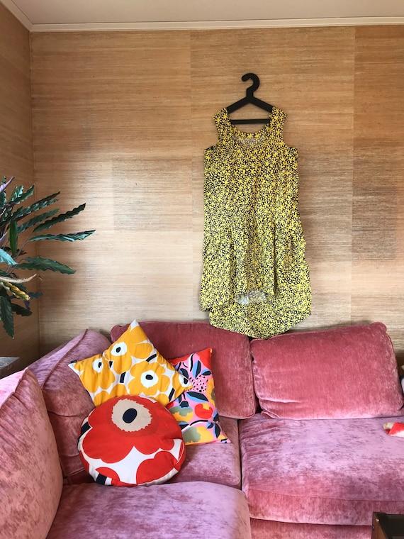 Vintage Marimekko Dress Rare Style / Size 38 but o