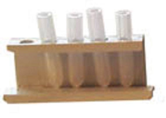 Doll miniature handcrafted test tubes in stand medical labratory 1//12th scale