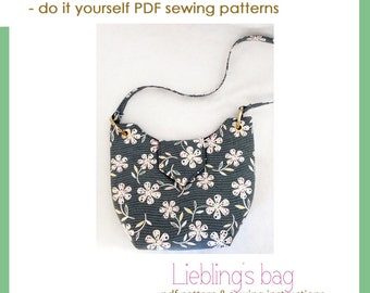 Liebling's bag - PDF sewing pattern