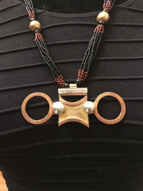 Vintage Tuareg Pendent-Vintage African Beads-Afric