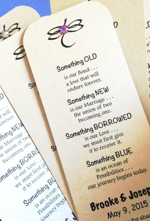 something borrowed wedding poem | Creativepoem.co