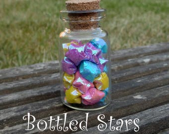 Bottled Origami Stars - Colours