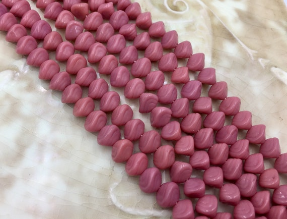 15 Red Shell Coin Beads 13mm Red Speckled Beads Jewellery Making Crafts