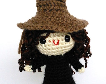 Pattern for Harry Potter Sorting Hat Doll Sized Crochet ea488cbfba4