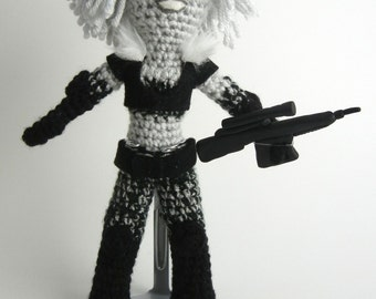Pattern for Farscape inspired Chiana Crochet Doll