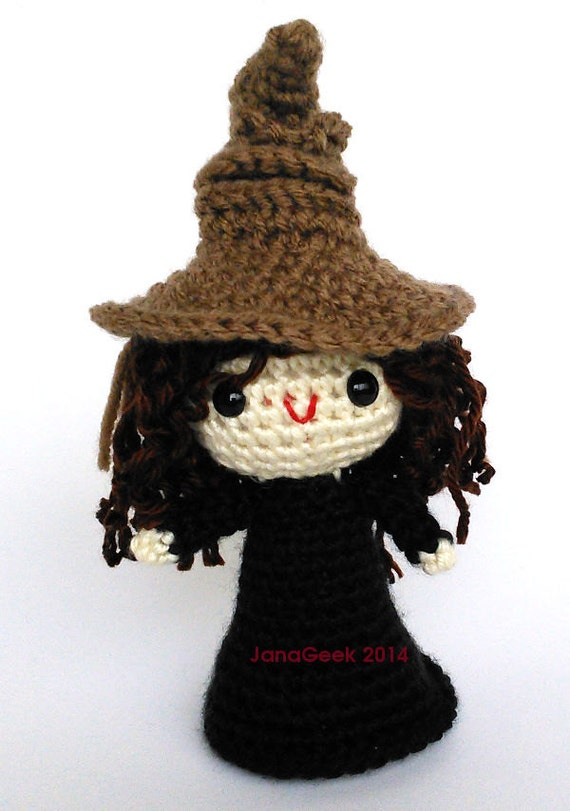 Pattern for Harry Potter Sorting Hat Doll Sized Crochet  c96b55d4f1c