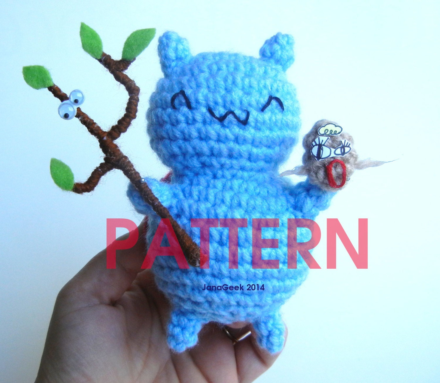 Pattern For Catbug Bravest Warriors Amigurumi Doll With Etsy