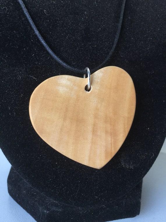 Timber necklace and earring set Jacaranda and Mulga Statement jewellery