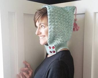 Crochet Pattern, Petrichor Hood