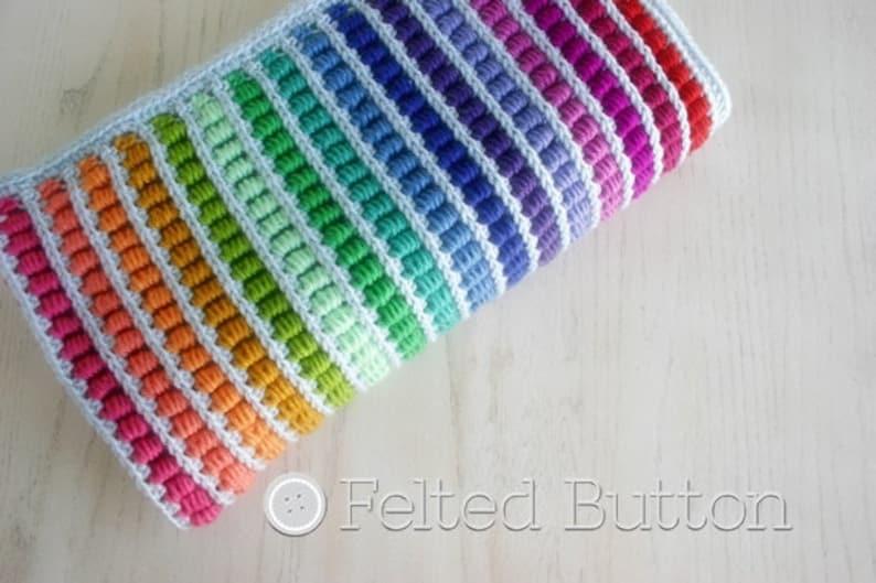 Crochet Pattern Abacus Blanket Baby Afghan Throw image 0