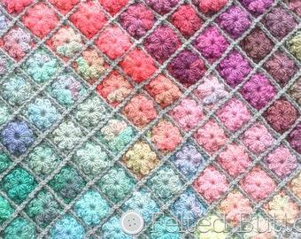 Crochet Pattern, Painted Pixels, Baby Blanket, Afghan