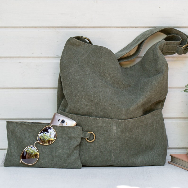 Canvas Bag Canvas Shoulder Bag Crossbody Bag Canvas Handbag  9c4eb8e7f6d7d