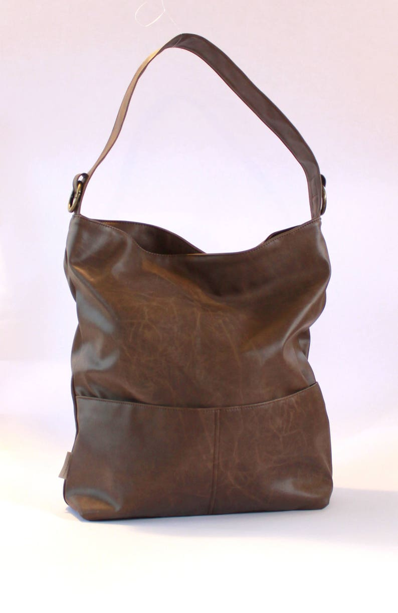 64f3617e3f32 Women Vegan Bags Brown Crossbody Bag Casual Shoulder Bag