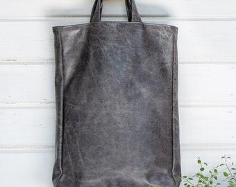 Vegan tas grijs, vouw Over portemonnee, vrouwen handtas, Vegan Bag, schoudertas, bovenste handvat leerzak, Vegan giften voor haar