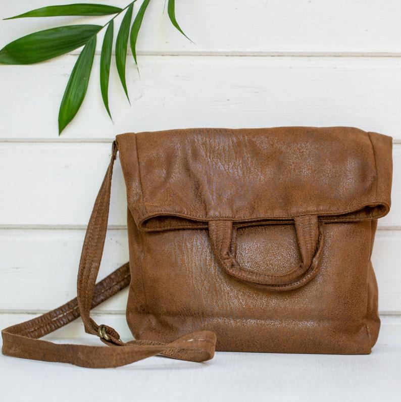 a390590ca41a4 Vegan-Tasche Falten über Geldbörse vegane Handtaschen