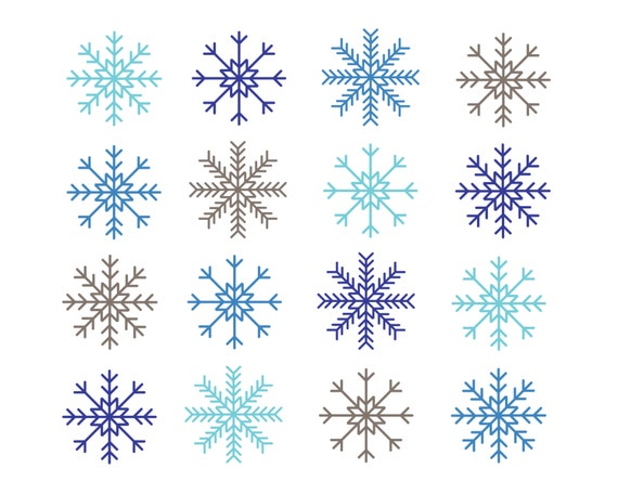 Free Snowflakes, Download Free Clip Art, Free Clip Art on Clipart Library