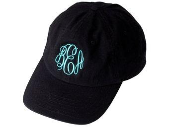 Monogrammed Hat, Monogrammed Baseball Cap
