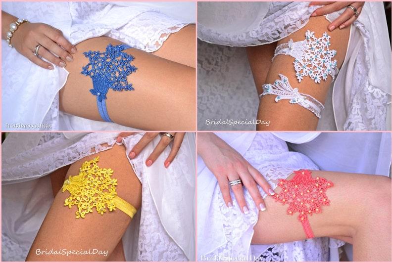 Wedding Clothing Royal Blue Toss Garter Lace Wedding Garter Blue Lace Garter Wedding Garter Set Belt For Bride Garter Set Something Blue