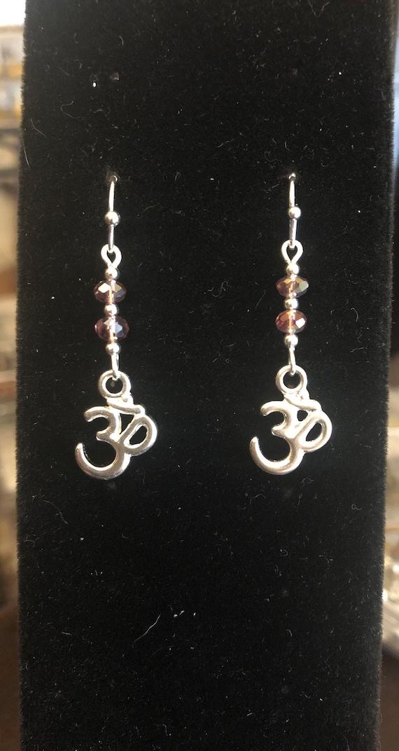 7.00 Ohm Yoga Meditation earrings Rose Color