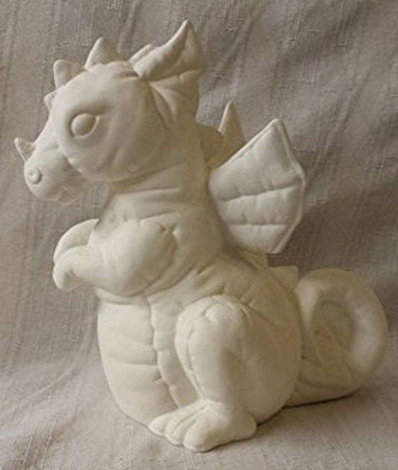 Creative Kreations Ceramics Softy Unicorn 10 Ready To Paint Ceramic Bisque