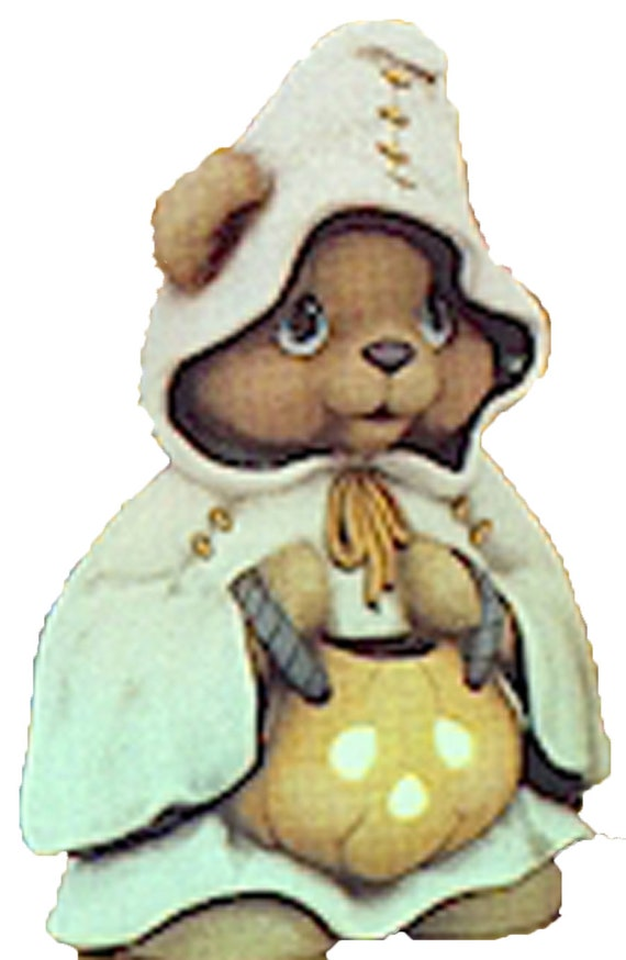 """Aunt Betsy Bear 9/"""" Ceramic Bisque Ready to Paint"""
