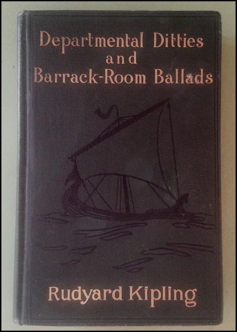 Departmental Ditties and Barrack-Room Ballads by Rudyard image 0